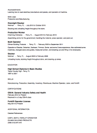Importance Of A Resume Stocker Resume Importance Of A Resume