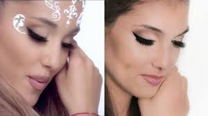 ariana grande make up hair tutorial deutsch break free i hannah black you