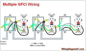 install a gfi outlet wiring an outlet in series install plug simple install