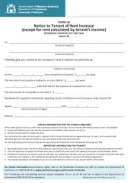 Raise Rent Letter 2019 Rent Increase Letter Fillable Printable Pdf Forms Handypdf
