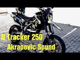 kawasaki d tracker 250 sound you