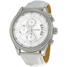 guess mens watch factory outlet guess mens watch authentic guess chronograph white dial mens watch w12101g1