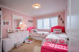 Little girls bedroom furniture kids traditional with letter art pink walls  pink knobs