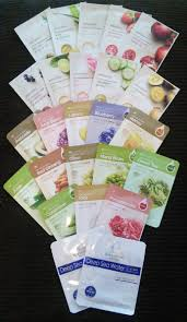 korean sheet masks review the face shop real nature mask kelp fifty shades of snail