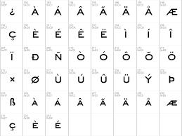 Download Free Eyechart Bold Font Dafontfree Net