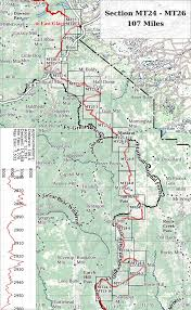 Continental Divide Trail Maps