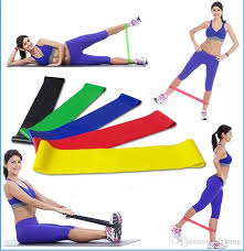 latex yoga exercise resistance bands fitness equipment stretch yoga leg band crossfit elastic band gym pilates resistance band rubber band