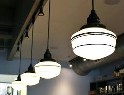 school house lights featured customer schoolhouse lighting a sweet look for chocolate lounge antique schoolhouse pendant