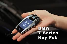 BMW New 7 Series Key Fob Fuctions  YouTube