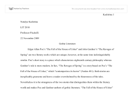 the fall of the house of usher university linguistics classics document image preview