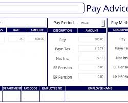 Payslip Maker Authentic Detailed Fast Free Instant