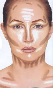where to highlight where to contour where to highlight