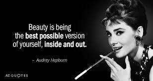 Audrey Hepburn Quotes On Beauty Best of TOP 24 QUOTES BY AUDREY HEPBURN Of 24 AZ Quotes