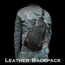 genuine leather backpack shoulder sling bag travel bag purse wild hearts leather silver item id bb2454b21