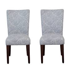 fashionable clic parsons dining chair set of 2