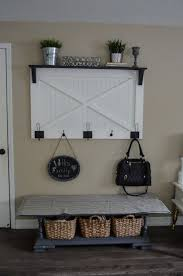 Farmhouse Coat Rack Beauteous DIY Farmhouse Coat Rack DIY Pinterest Coat Racks And Entry Hall