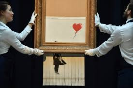 Banksy's shredded painting stunt was viral performance art. But who was  really trolling who?