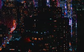 Night city lights HD Wallpaper 15 ...