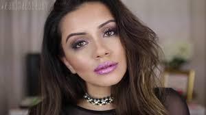 diy glitter lips tutorial makeup tutorial