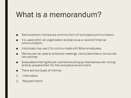 Memorandums And Letters Powerpoint Why Are Memos Used Magdalene Project Org