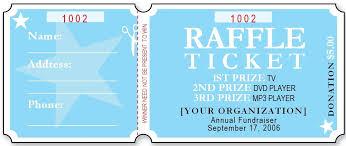 Free Editable Raffle Movie Ticket Templates Free Nurul Amal