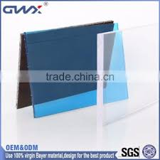 polycarbonate sound barrier wall