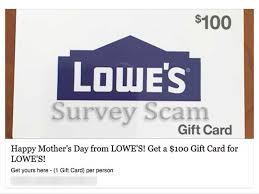 lowe s gift card scam