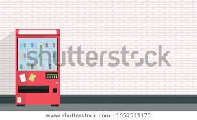 Vending Machine Wallpaper Cool Vending Machine Vector Free Space Text Stock Vector Royalty Free