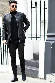 Capsule Wardrobe For Men (eBook) | <b>Black</b> outfit men, Mens outfits ...