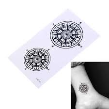 2 шт водостойкая временная татуировка наклейка черный дворецкий контрактный