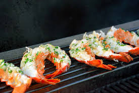 Grilled lobster claw recipe