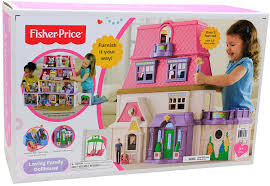 Loving family dollhouse toys