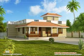 Single Story Kerala Model House Without Car Porch Kaf Mobile Single Story Indian House Designs