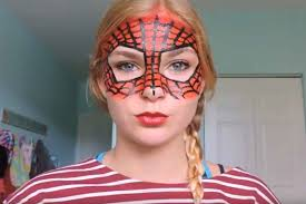 makeup ideas spiderman makeup 12 easy makeup ideas you can master before the big