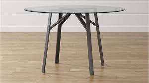 round glass top dining table fresh belden round dining table with 48 glass top