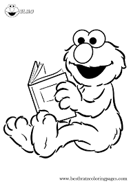 Free Printable Elmo Coloring Pages   Bratz Coloring Pages ...