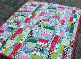 Jelly Roll Jam Christmas Quilt | The Stitching Scientist & Jelly Roll Jam Christmas Quilt Adamdwight.com