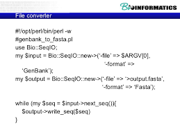 further 1Fernán Agüero An Introduction to Perl Programming Fernán Agüero additionally BioPerl An Introduction to Perl – by Seung Yeop Lee XS extension as well Intro to Perl and Bioperl further BioPerl An Introduction to Perl – by Seung Yeop Lee XS extension further  furthermore How to install Bioperl in window 7   YouTube likewise Lecture ppt download moreover Intro to Perl and Bioperl further Perl Script Basics Tutorial 1   Introduction to Perl   YouTube likewise Perl and Bioperl – rasalsi. on intro to perl and bioperl
