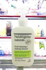 sữa rửa mặt tẩy trang neutrogena naturals fresh cleansing and makeup remover 177ml 6 fl oz