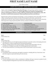 Military Resume Templates Fascinating Top Military Resume Templates Samples