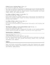 9 10 Law Clerk Resumes Samples Juliasrestaurantnj Com