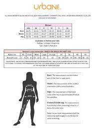 jockey size chart lejoy uniforms size charts for lejoy uniform brands