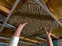 sagging tin ceiling tiles bathroom: the antique tin ceiling tiles tin ceiling tiles bedroom installations the antique tin ceiling tiles
