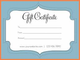 Make Your Own Gift Certificate Free Printable 7 Free Online Gift Certificates Templates Andrew Gunsberg