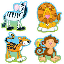 Small Picture Jungle Animals Cut Out Coloring Coloring Pages