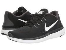 nike running shoes black and white. nike womens flex trainers runners blk/wht us sizes running shoes black and white