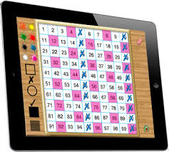 One Hundred Chart Interactive Hands On Math Interactive Hundred Chart Ipad App
