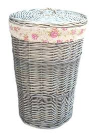 linen basket small antique wash round linen basket with garden rose lining colour match linen baskets in argos plastic linen baskets uk