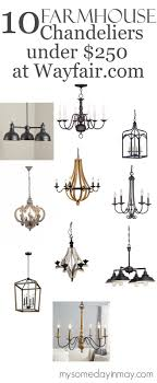 i ve been ping for a new chandelier for my kitchen and i thought i d show you what i ve found these ten chandeliers are all from wayfair com