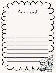 Give Thanks! FREE Writing Prompts and Thanksgiving Papers ...